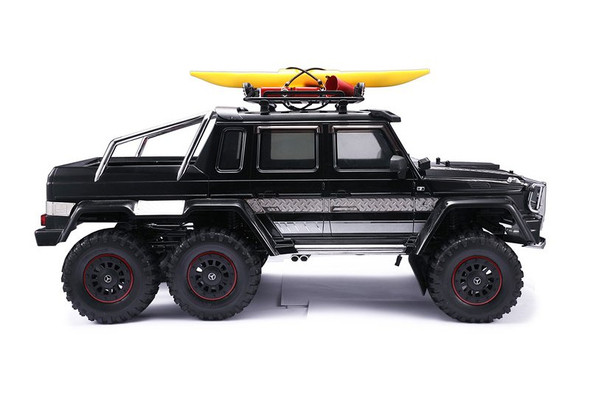 GPM RC Car Metal Roof Luggage Rack Black : 1:10 Crawlers Without Handle