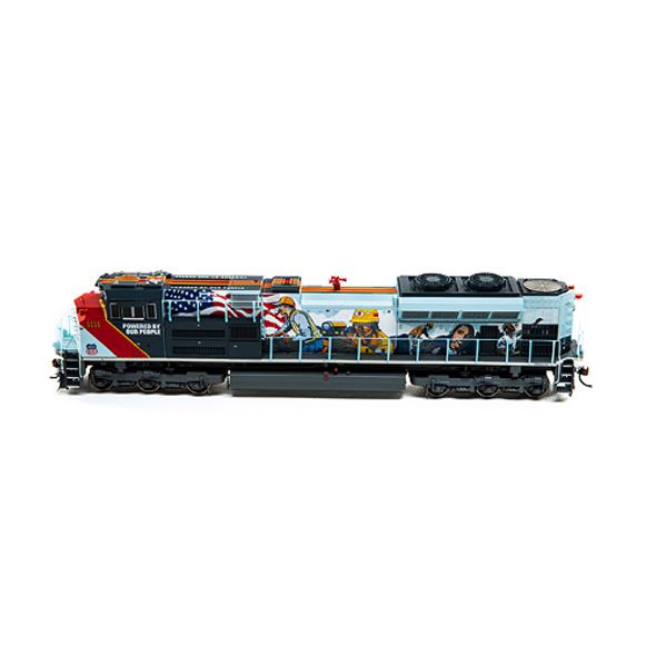 Athearrn ATHG01111 Union Pacific SD70ACe w/DCC & Sound #1111 Locomotive HO Scale