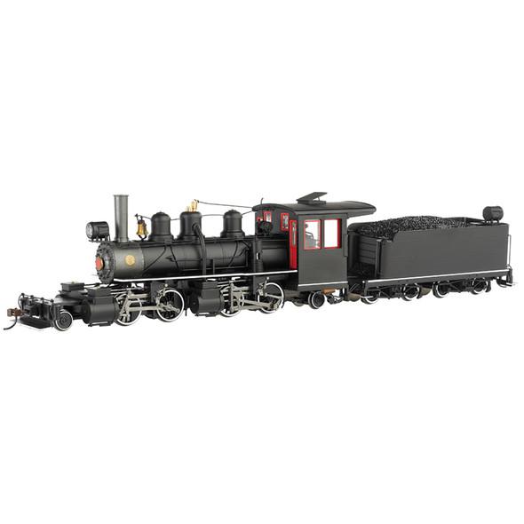 Bachmann 29002 Black Steel Cab w/ White Stripes Baldwin 2-4-4-2 DCC Locomotive On30