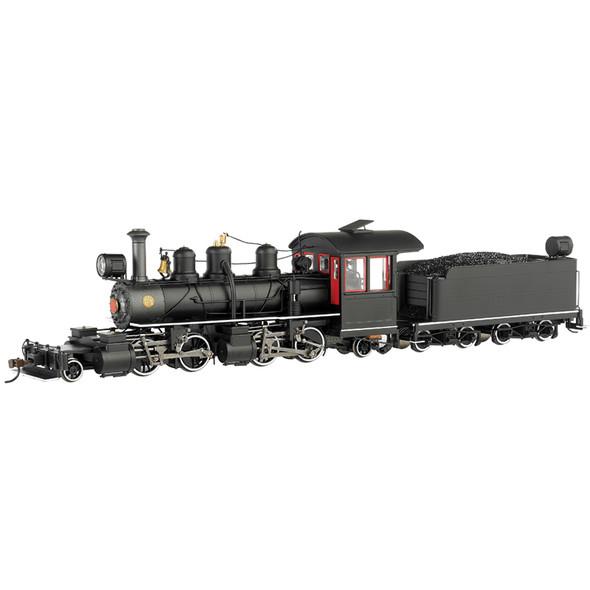 Bachmann 29004 Black Wood Cab w/ White Stripes Baldwin 2-4-4-2 - DCC Locomotive On30