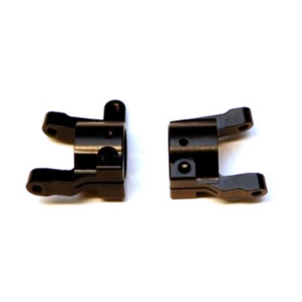 STRC CNC Machined Brass C-hubs Black (1 pair) :  Element Enduro