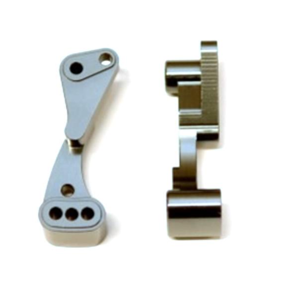 STRC STC71070GM Aluminum Wheelie Bar Mount Gun Metal : Associated DR10