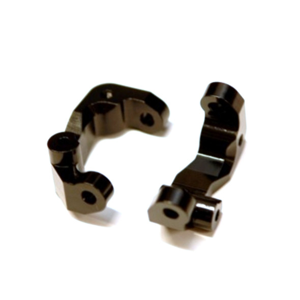 STRC STC91417CBK Aluminum Caster Blocks (1 pair) Black : Associated DR10