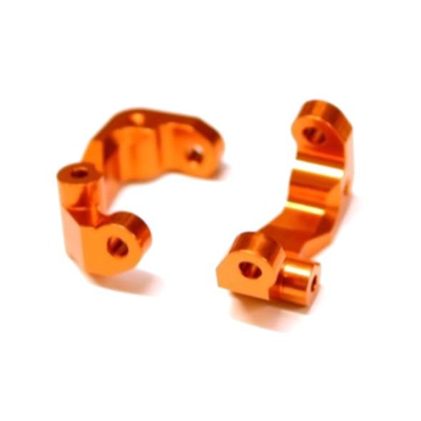 STRC STC91417CO Aluminum Caster Blocks (1 pair) Orange : Associated DR10