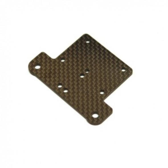 STRC STR320195 Graphite Steering Bellcrank Upper Plate : Outcast / Limitless / Infraction
