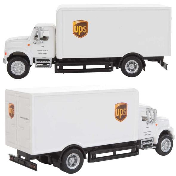 Walthers International(R) 4900 Single-Axle Box Van - UPS White HO Scale