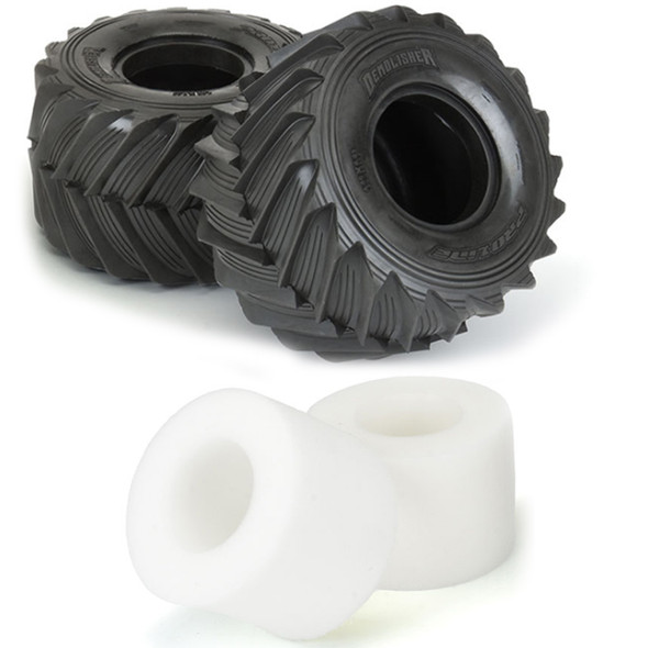 """Pro-Line 10187-00 Demolisher 2.6""""/3.5"""" All Terrain Tires : Losi LMT Front or Rear"""