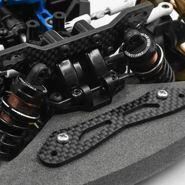 Yeah Racing TATT-024 Carbon Front Damper Stay : Tamiya TT02 & TATT-S04