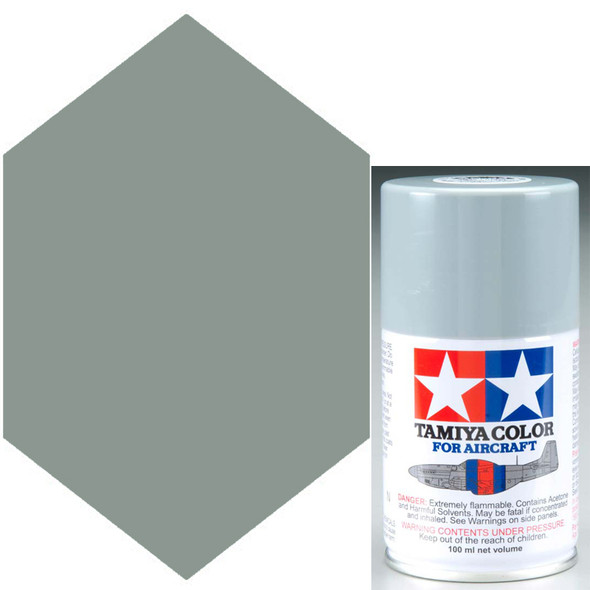 Tamiya AS-32 Medium Sea Gray 2 RAF Lacquer Spray Paint 3 oz