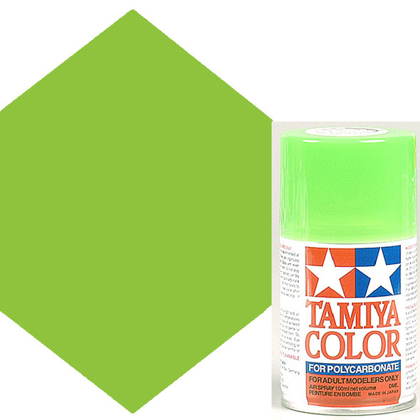 Tamiya Polycarbonate PS-28 Fluorescent Green Spray Paint 86028