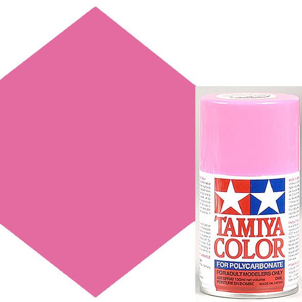 Tamiya Polycarbonate PS-29 Fluorescent Pink 3 oz Spray Paint 86029
