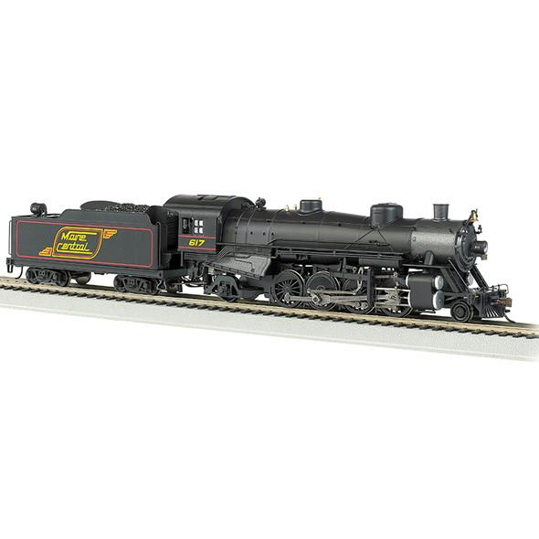Bachmann 54305 Maine Central #617 Light 2-8-2 w/Med.Tender- DCC Sound Locomotive HO Scale