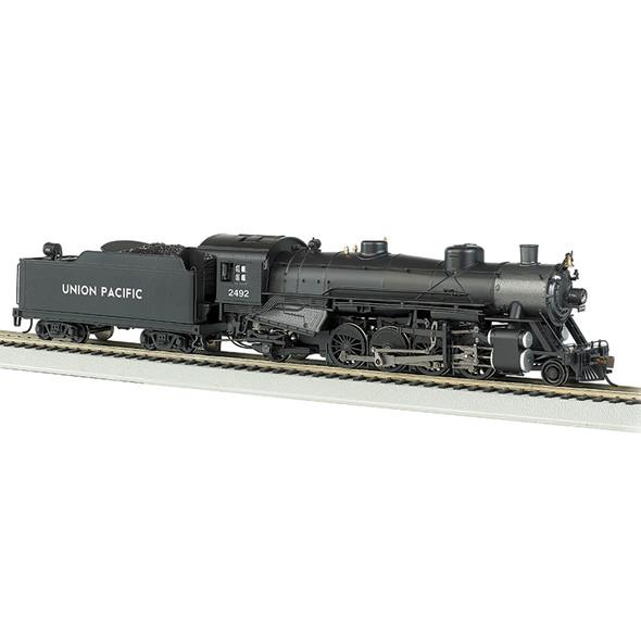 Bachmann 54306 UP #2492 Light 2-8-2 w/Med.Tender-DCC Sound Locomotive HO Scale