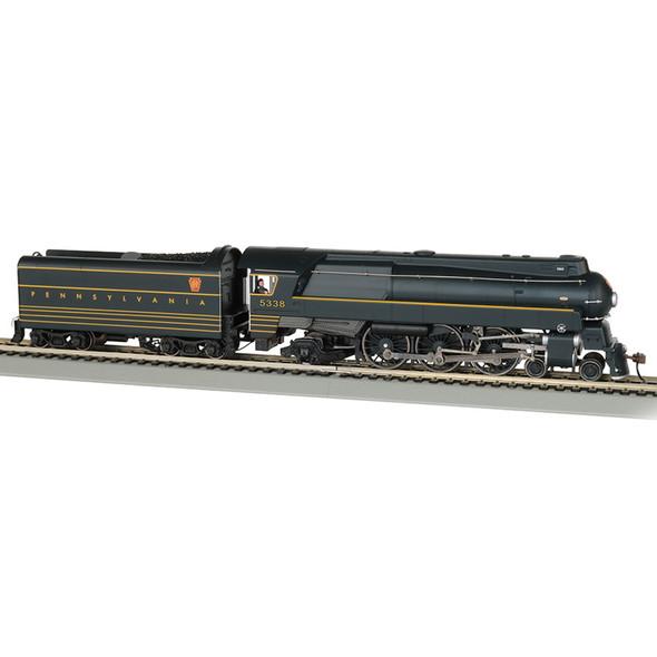 Bachmann 85304 PRR #5338 - Streamlined K4 4-6-2 - DCC WowSound Locomotive HO Scale