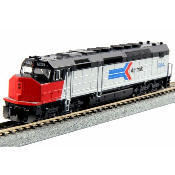 Kato 1769205-LS SDP40F Diesel Amtrak LokSound Installed #501 Train N Scale