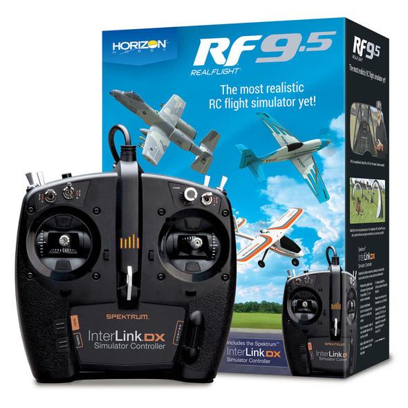 RealFlight RFL1200 Horizon Hobby 9.5 Flight Simulator with Interlink Controller