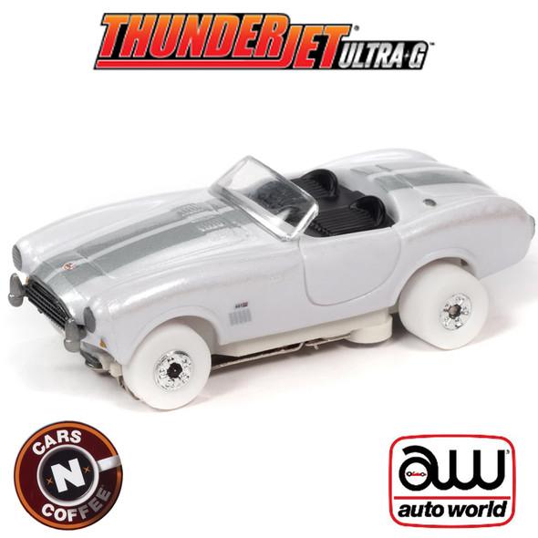 Auto World Thunderjet R31 1965 Shelby Cobra 427 S/C Roadster iWheels HO Slot Car