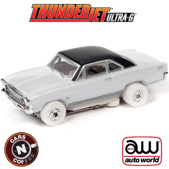 Auto World Thunderjet R31 1966 Chevrolet Nova SS iWheels HO Scale Slot Car