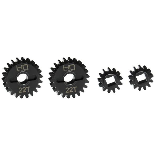 Hot Racing AUTB813X22 Over Drive Portal Machined Gear Set 13-22T : Capra 1.9 UTB