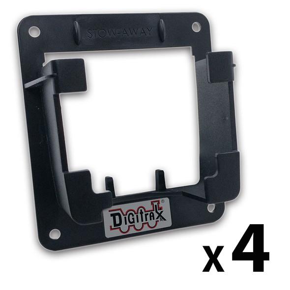 Digitrax Stow-Away 4 PACK Throttle Holder