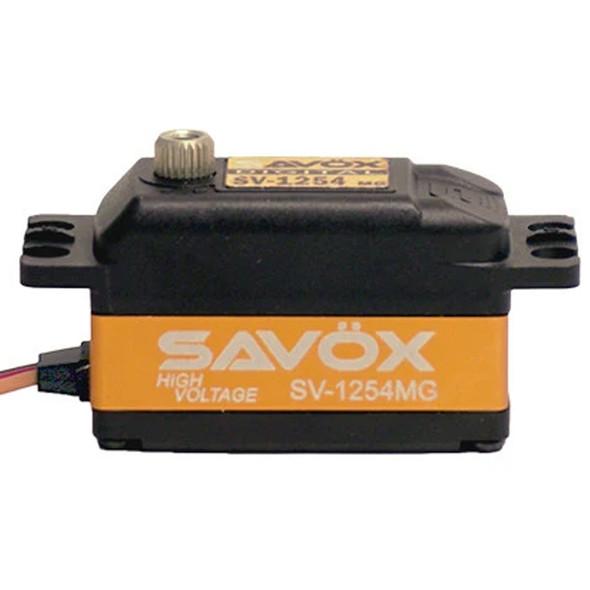 Savox SV-1254MG High Voltage Coreless 7.4V / .085 sec / 208.3 oz. Digital Servo