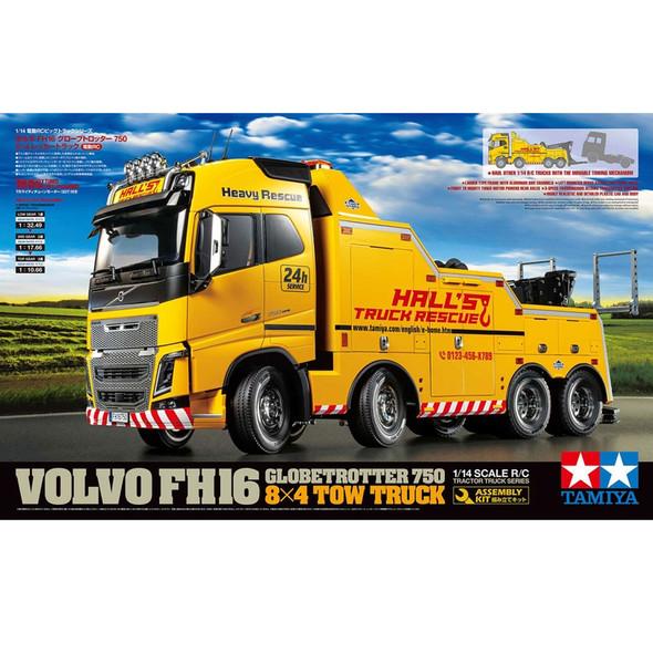 Tamiya 56362 1/14 RC Volvo FH16 Globetrotter 750 8x4 Tow Truck Kit