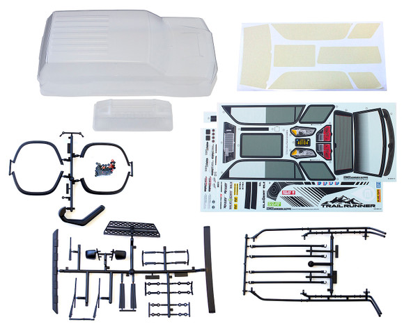 Associated 42241 Trailrunner Clear Body w/ Accessories