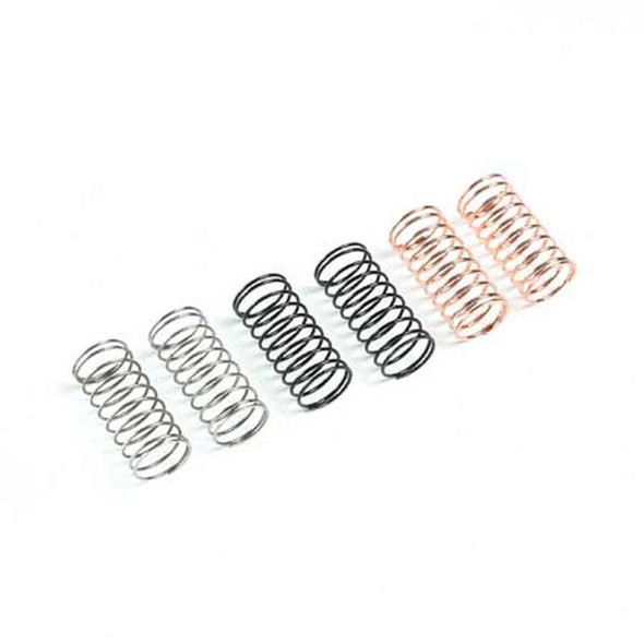 Losi LOS214018 Front Shock Springs (3 pair) : Mini-B