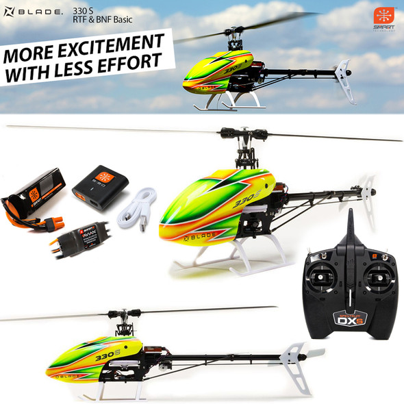 Blade BLH59000 330 S Ready-To-Fly Helicopter w/ Transmitter / Battery / Charger