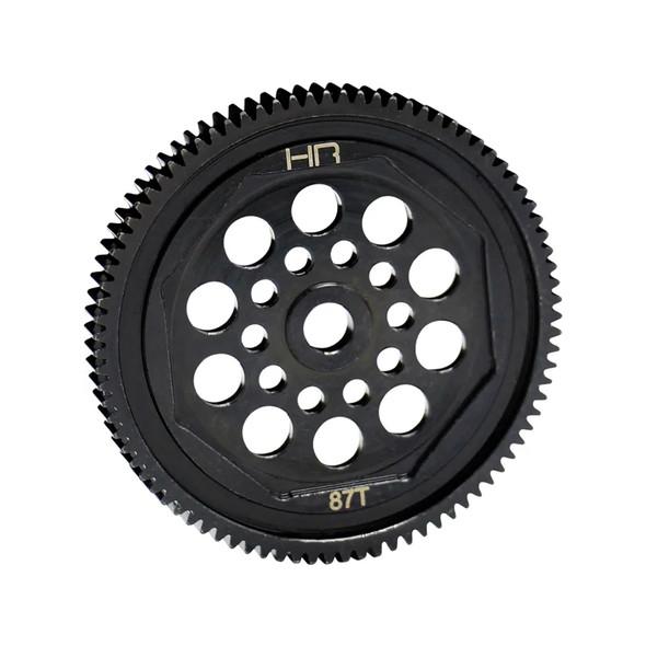 Hot Racing EDR887T 87T 48P Hardened Steel Spur Gear : T4 B4 & Element Enduro