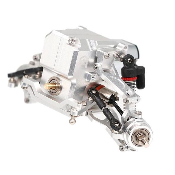 Orlandoo Hunter Alum Double Wishbone Suspension & Axle Silver : OH32P02 1/32 MAX Tundra