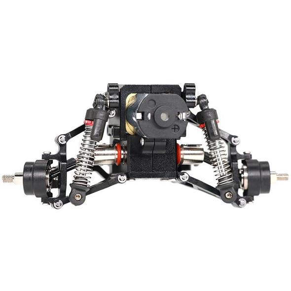 Orlandoo Hunter Alum Double Wishbone Suspension & Axle Black : OH32P02 1/32 MAX Tundra