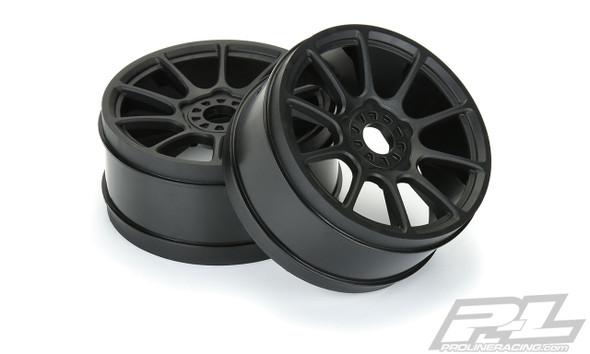 Pro-Line 2784-03 Mach 10 Black F/R Wheels (4) : 1:8 Buggy
