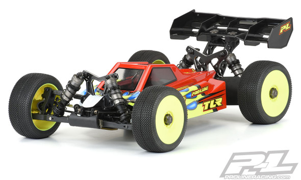 Pro-Line 3567-00 Axis Clear Body : TLR 8ight-XE