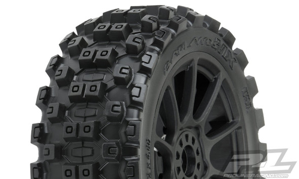 Pro-Line 9067-21 Badlands MX M2 Medium All Terrain 1:8 Buggy Tires/Wheels (2)