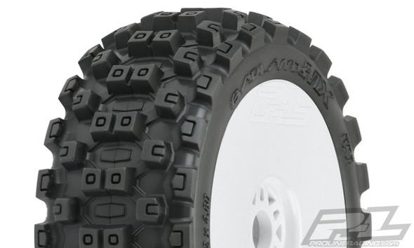 Pro-Line 9067-31 Badlands MX M2 Medium All Terrain 1:8 Buggy Tires/Wheels (2)
