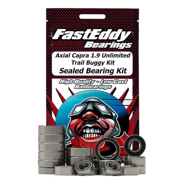 Fast Eddy Bearings TFE5837 Axial Capra 1.9 Unlimited Trail Buggy Sealed Bearing Kit