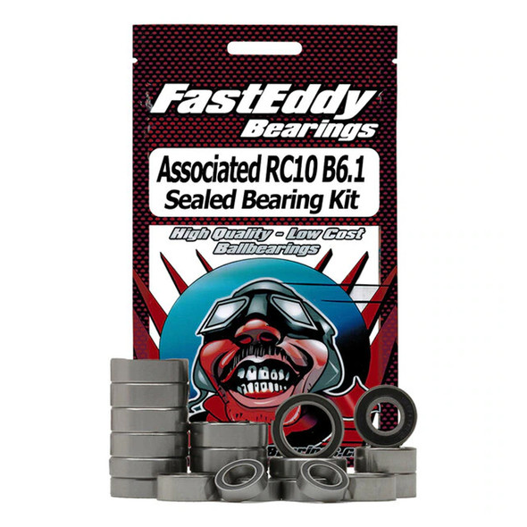 Fast Eddy Bearings TFE5867 Team Associated RC10 B6.1 Sealed Bearing Kit