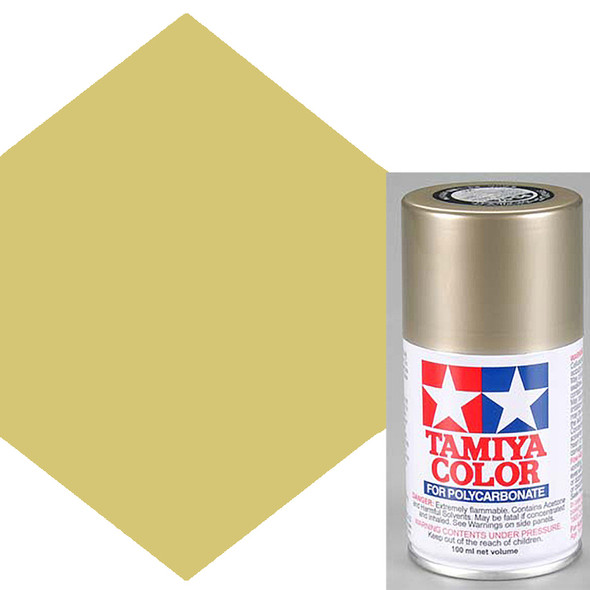 Tamiya Polycarbonate PS-52 Champagne Gold Anodized Aluminum Spray Paint 86052