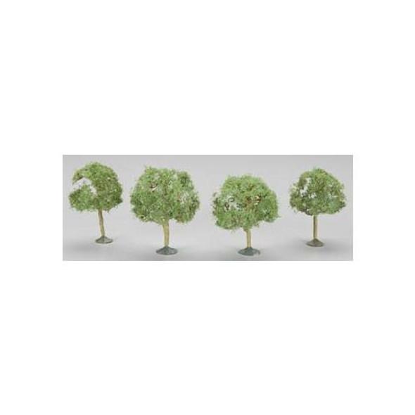 """Bachmann 2.25-2.5"""" Oak Trees (3) N Train 32113"""