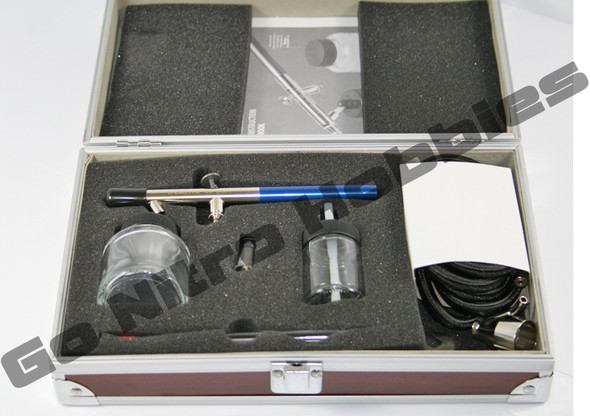 Badger 150 Pro Dual Action / Bottom Feed Airbrush Set Internal Mix MD/HD 150-4pk