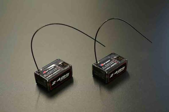 CARISMA CTX8000 2-CHANNEL FHSS 2.4GZ RADIO SYSTEM W/2 X RECEIVER COMBO SET