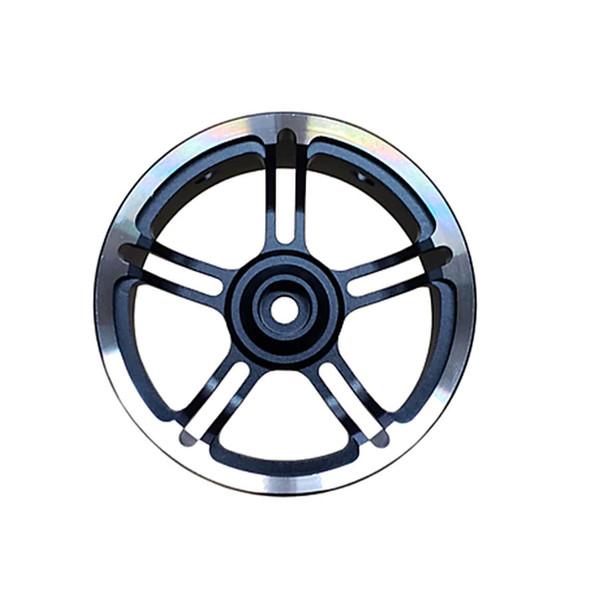 Sanwa 191A04601A Aluminum Steering Wheel : M17 Transmitter