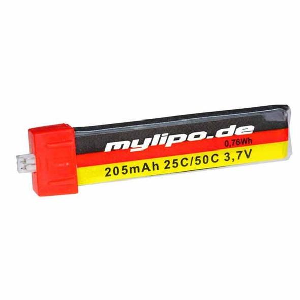 MyLipo Blade Nano QX / Inductrix / Tiny Whoop 3.7v 205Mah 25C Lipo Battery