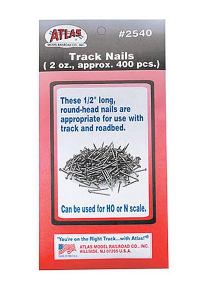 Atlas Model Rail Road Track Nails 2oz 2540