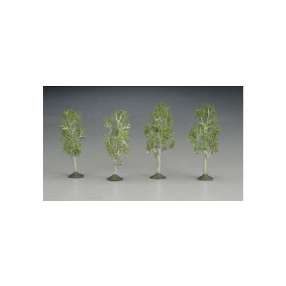 "Bachmann SS 2 1/2-2 3/4"" Aspen Trees (4) N 32110"