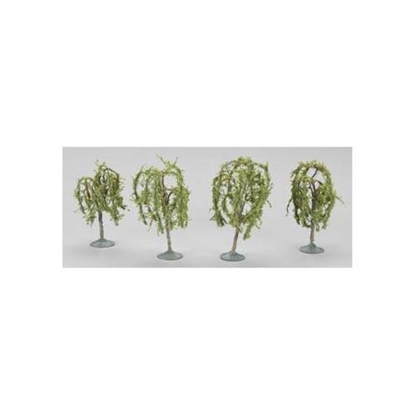"Bachmann 2.25-2.5"" Willow Trees (3) N 32114"
