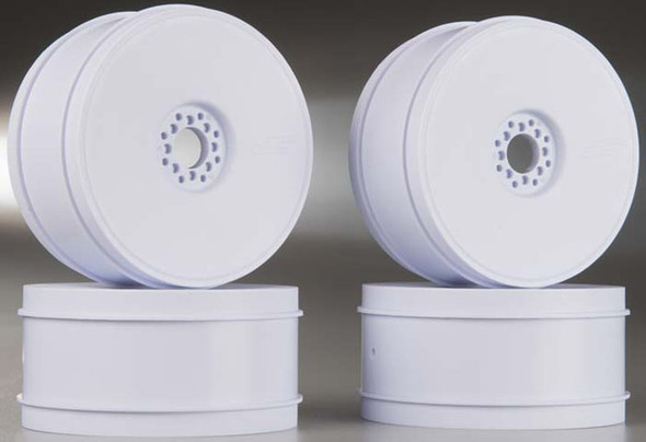 JConcepts 3357W 1/8 Bullet Buggy Wheels 83mm White (4)
