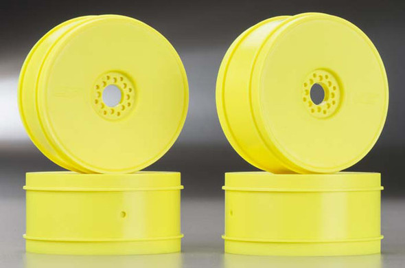 JConcepts 3357Y 1/8 Bullet Buggy Wheels 83mm Yellow (4)