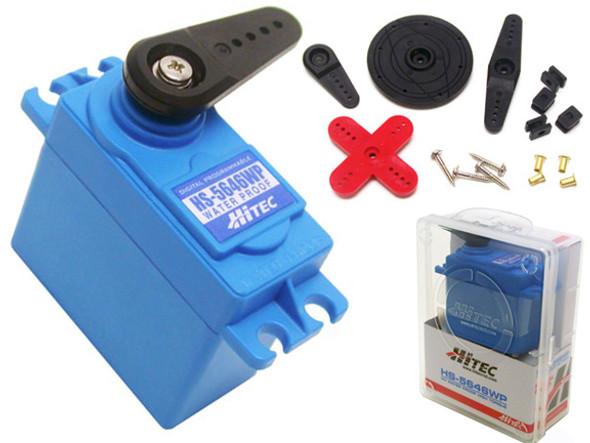 Hitec HS-5646WP Digital Waterproof HV MG Dual BB Servo HS5646WP/HS5646/5646